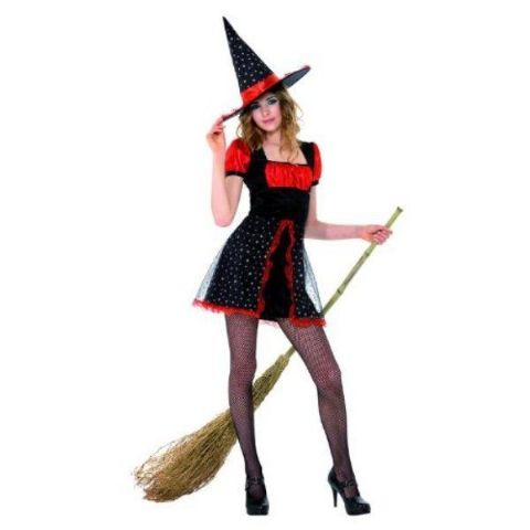 Teen Star Witch Halloween Fancy Dress Costume (Age 12 - 14)